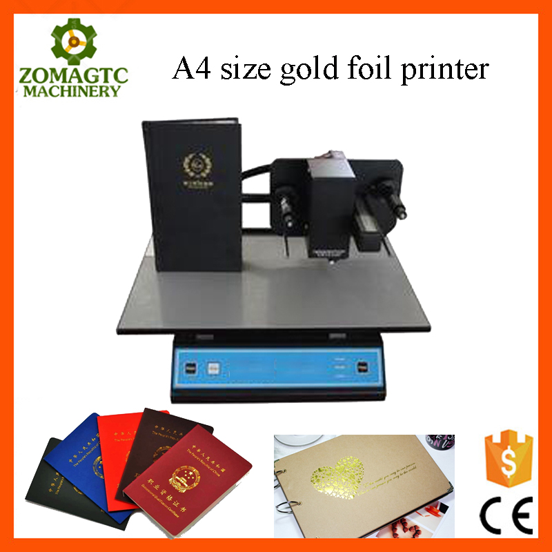 Digital Name Card Printing Machine , mini Foil Stamping Machine , Gold Foil Printer for sale