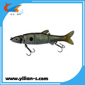 Swim bait multi jointed fishing lure