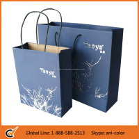 wholesale custom paper bag with logo print