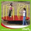 Colorful Playground Merry Go Round with Color Powder Coated Metal Platform LE.ZM.004