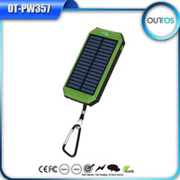 Promotonal Solar Charger 8000mah Lithium Power