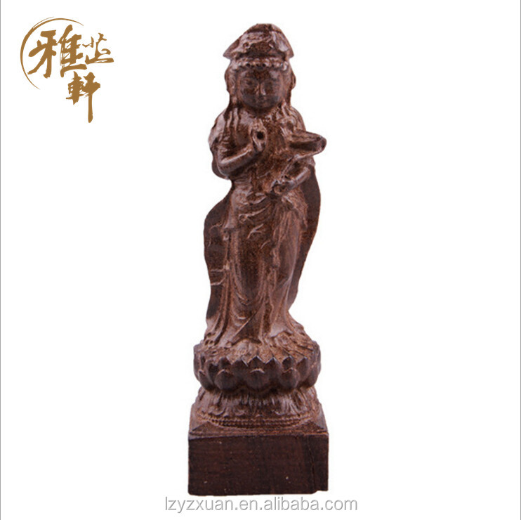 Hot selling China wooden buddha sculpture 3d <strong>models</strong> for home decoration wholesale