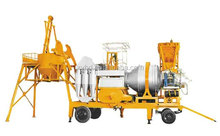 twin drum Mobile cold asphalt mixing plant with CE certification from China manufacture