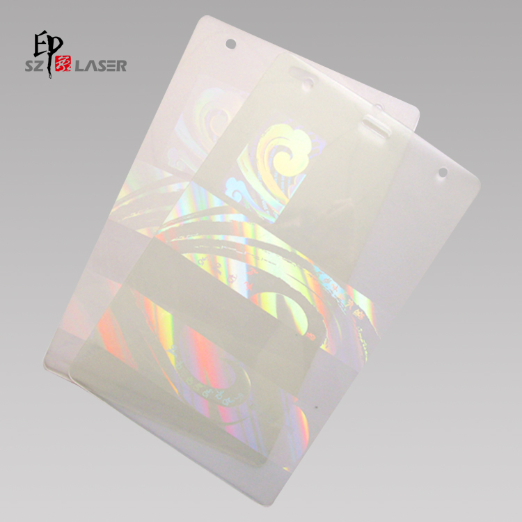 Transparent Holographic Thermal Transfer Ribbons for PVC Card