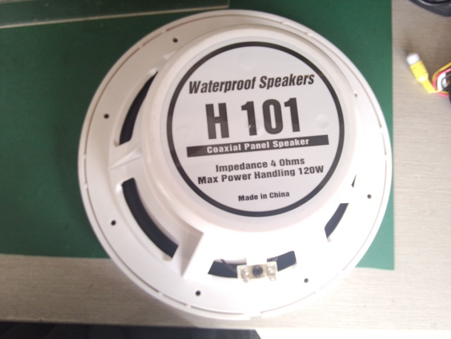 10 inch speakers for boat,yacht,sauna room,excavator