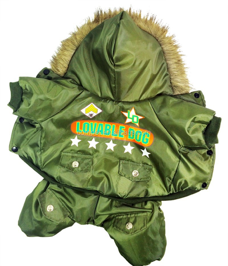Upgrade Air Force Number One Extra Heavy Army Green Dog Pet Apparel
