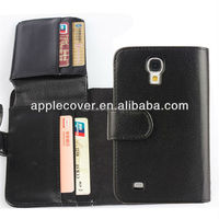 High quality business style wallet leather case for samsung s4 i9500 , for samsung galaxy s4 cover