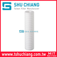 "High Flow Rate Melt Blown Polypropylene Filter 10""/20""/30""/40"" Fine Pp Non Woven Fabric/High Flow Rate Melt Blown Filter"