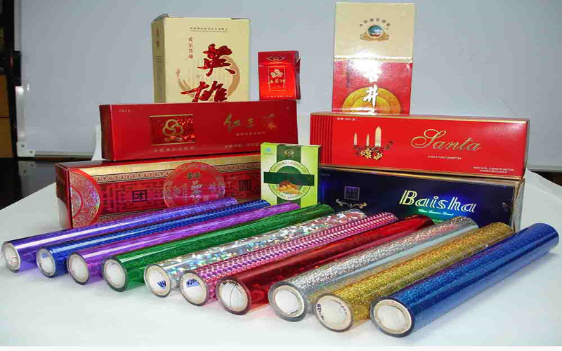 PET products hot stamping foil for lamination