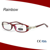 New italy design ce reading glasses ladies spectacles frame latest model spectacle frame P10561