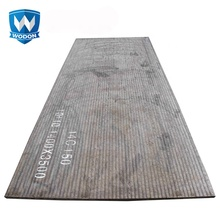 Wodon chromium carbide overlay steel <strong>plate</strong> with super wear resistance