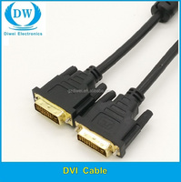 High Transfer Speed Triple Shielded DVI to DVI Cable, dvi cable assembly
