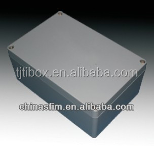 2015 TIBOX Super Quality 222*145 *55mm Sealed Aluminium enclosures for electronic(junction) Outdoor Use