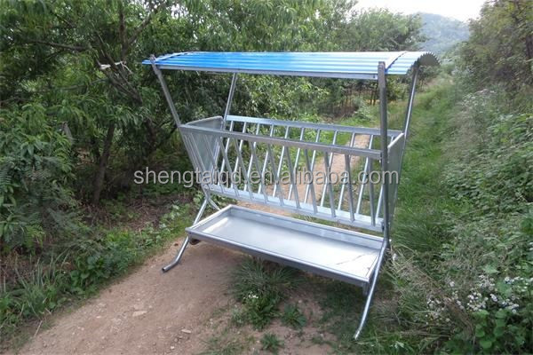 hot dip galvanized wiremesh goat hay feeder