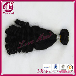 Real mink personal natural color hair virgin ocean tropic tight fummi curl brazilian hair italian hair color manufacturers