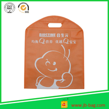 Logo Printed Promotional Non Woven Carrier Bags for Shopping Garment