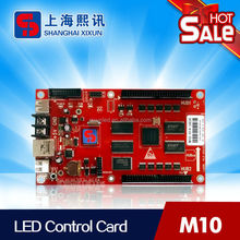 outdoor programmable led signs controller support 4000x128 pixels with high speed and stable communication