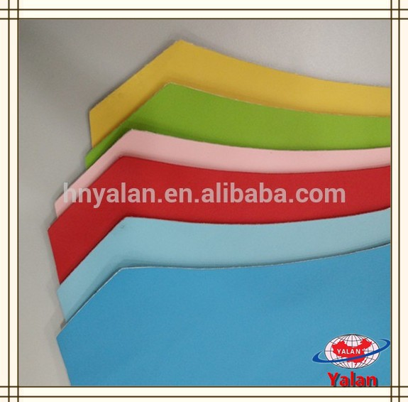 china bright colorful synthetic pu leather for garments