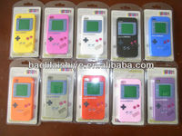 Game console machine showing multicolor marketable silicone hand phone can for Iphone 4
