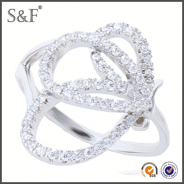 HOT SELLING!!! Newest Style Crystal neelam stone ring