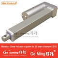 Straight push rod linear actuator