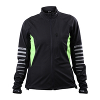High Quality cycling wear lady soft shell jacket