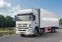 CHINA TRUCK MANUFACTUER CTC-SINOPOWER 8X4 CARGO TRUCK FOR SALE