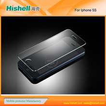high quality tempered glass clear screen protection for iphone 5 | 5g |5s