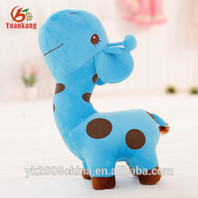 Japanese Names Blue Stuffed Toy Organic Plush Giraffe Toy For Claw Machine