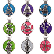 Fashion aromatherapy necklace diffuser pendant Wholesale NSZ-102