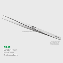 Precision Professional Watchmakers Tweezers Pointed Straight AK-11