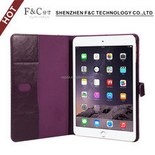Light Up Case Flip Cover With Card Holder For iPad Mini 4 Tablet Case Sale