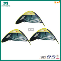 lightweight spring steel wire pop up beach tent