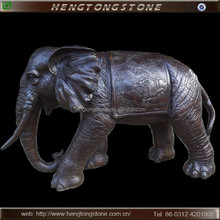 Antique Bronze Elephant Sculpture