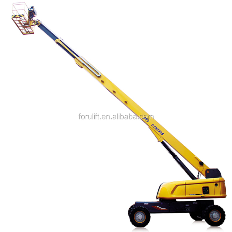 14m 18m 30m all terrain diesel self-propelled articulated boom lift