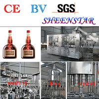 Good price excellent alcohol drink vodka filling machine