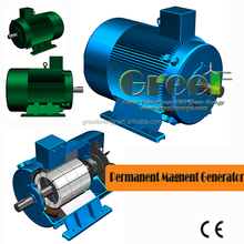 Low rpm alternator 500w to 5000KW for wind power or hydro turbine
