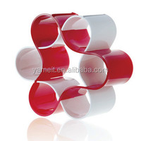 Acrylic wine rack holder display with Ice container with coaster carlo rossi red wine Shenzhen factory