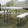 Plastic Table And Bench Outdoor Beer