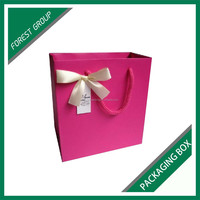GOOD QUALITY PAPER BOARD MATERIAL GIFT BOX PACKINH BAG WITH BUTTERFLY KNOT