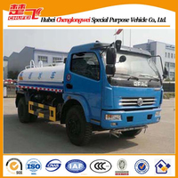 Used water tank truck for sale 4x2 dongfeng water truck