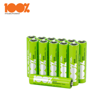 Long Cycle Life Rehcargeable Batteries 1.2V AAA 800mAh for wireless microphone