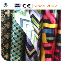 colorful pvc foam stretch satin fabric for india market