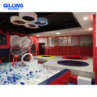 China Popular Kids Games Indoor Playground Equipment With Ball Pool Ocean