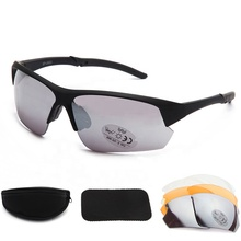 High Quality Outdoor Driving Cycling Interchangeable Lens UV400 Sports Sunglasses For Men Women
