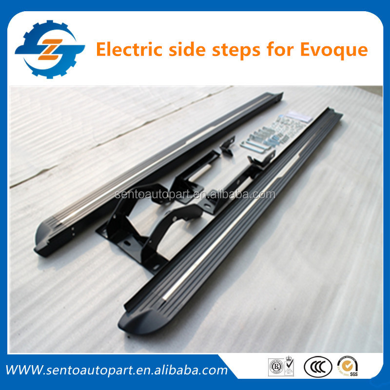 High Quality Electric Side Step bar/Car Running Board/Side Step for Evoque