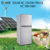 Solar DC 12V/24V double door fridge R-132T