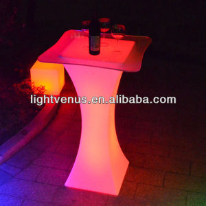 IP65 outdoor Unlimited Color Changing LED Cocktail Table