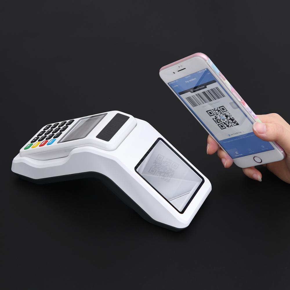 Mini Wireless Portable Handheld Cryptocurrency Bitcoin QR Code POS Terminal