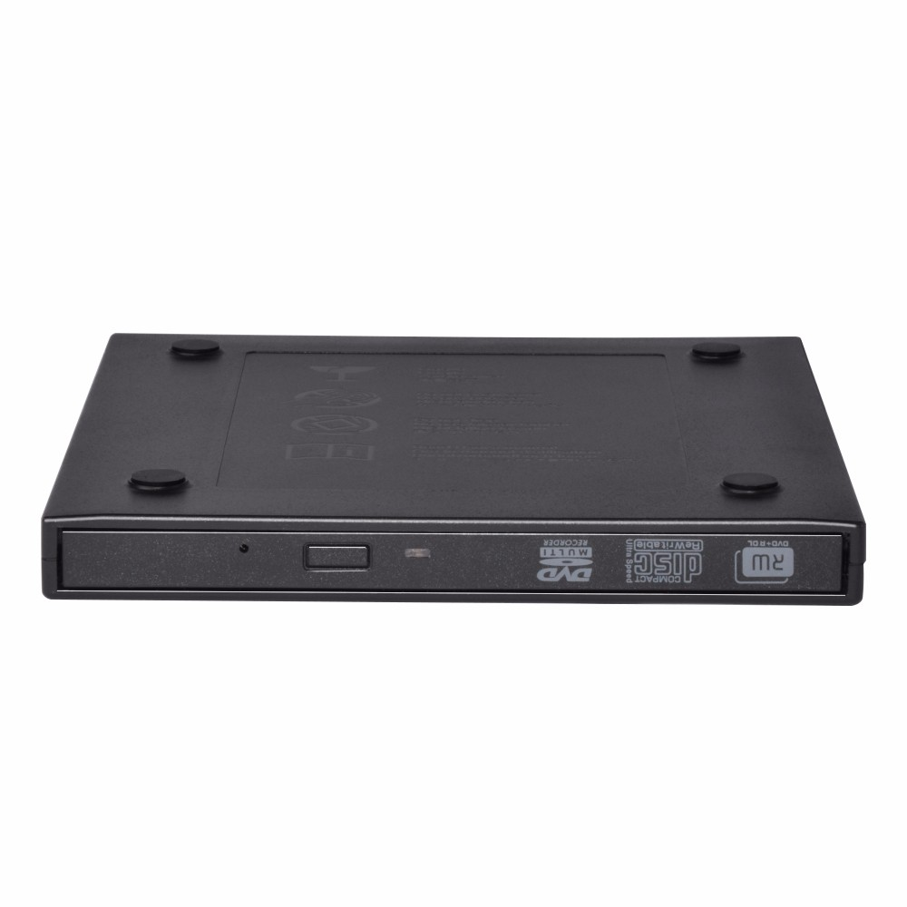 Portable USB 3.0 Slim DVD RW/DVD ROM/External Optical Drive for Optical bay